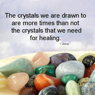 Selecting Healing Stones or Crystals to Work With (Part I)