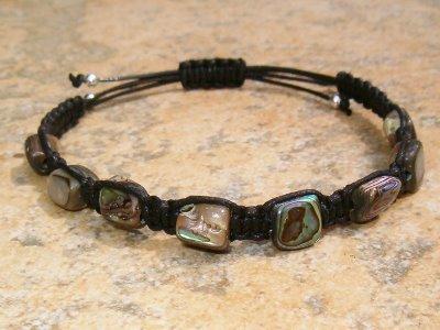 Abalone Shell Healing Energy Bracelet