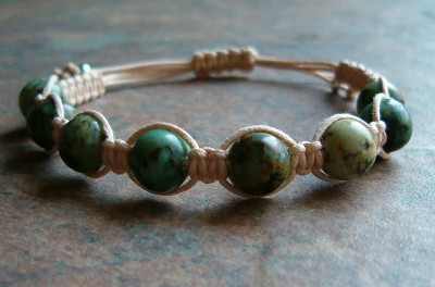 African Turquoise Healing Energy Bracelet