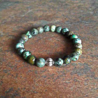 African Turquoise Healing Energy Bracelet