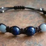 Amazonite, Labradorite, Angelite & Lapis Healing Energy Bracelet