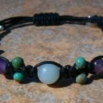 Amethyst, Amazonite & Turquoise Healing Energy Bracelet