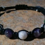 Amethyst, Aventurine & Moonstone Healing Bracelet