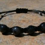 Larvikite (Black Labradorite) Healing Energy Bracelet