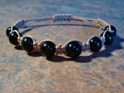 Black Tourmaline Healing Energy Bracelet