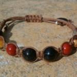 Black Tourmaline & 3 Jaspers Bracelet