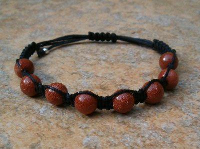 Brown Goldstone Healing Bracelet