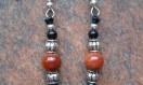 Brown Goldstone Earrings