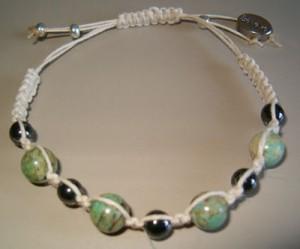 Chrysocolla & Hematite Healing Bracelet
