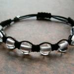 Clear Quartz Crystal Healing Energy Bracelet