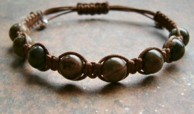 Dragon Blood Jasper Healing Energy Bracelet