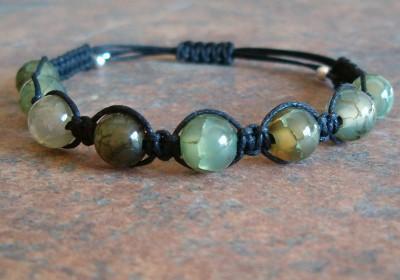 Dragon Vein Agate Healing Energy Bracelet