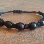 Ebony Wood Healing Energy Bracelet