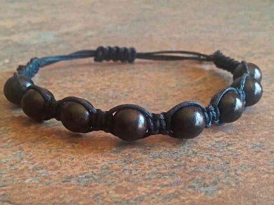 bra passform breda sorter senaste rabatt Ebony Wood Healing Energy Bracelet | Mystic Zen Healing Jewelry