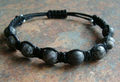 Fossil Agate Healing Energy Bracelet