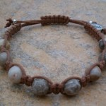 Brown Fossil Coral Healing Bracelet