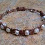 Freshwater Pearl Healing Energy Bracelet