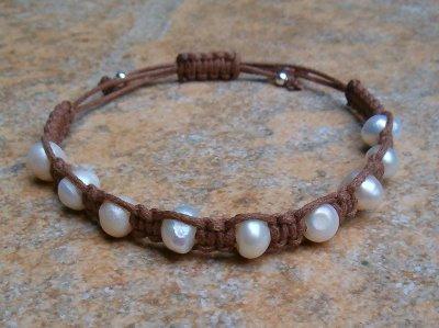 Freshwater Pearl Healing Bracelet