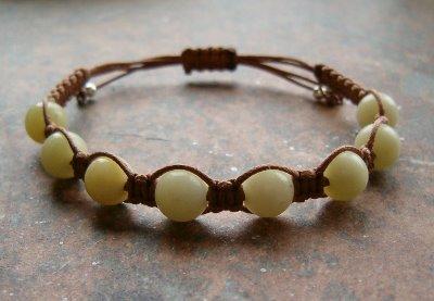 Lemon Jade Healing Energy Bracelet