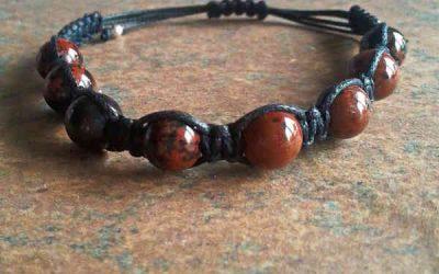 Mahogany Obsidian Healing Energy Bracelet