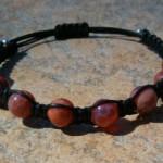 Mexican Fire Agate Healing Bracelet