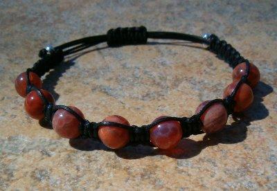 Fire Agate Healing Energy Bracelet