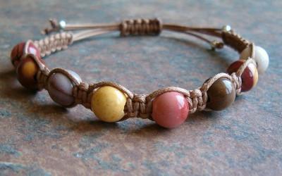 Mookaite Jasper Healing Energy Bracelet