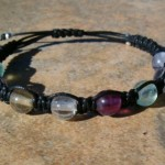 Multi Color Fluorite Healing Energy Bracelet