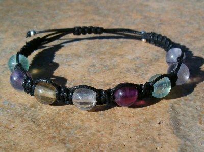 Rainbow Fluorite Healing Bracelet