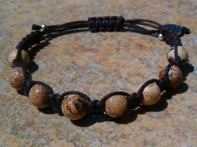 Picture Jasper Healing Energy Bracelet
