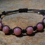 Pink Opal Healing Energy Bracelet