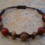 Red & Autumn Jasper Healing Bracelet