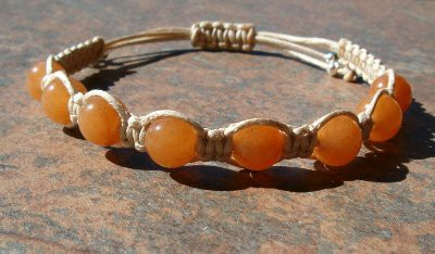 Red Aventurine Healing Energy Bracelet