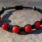 Red Coral Healing Energy Bracelet