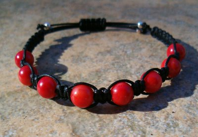 Red Coral Healing Bracelet