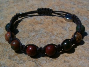 Red Creek Jasper Healing Bracelet