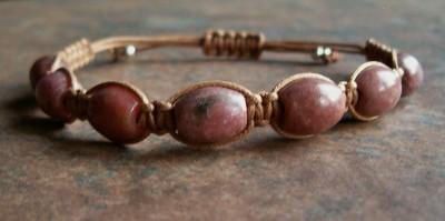 Rhodonite Healing Energy Bracelet