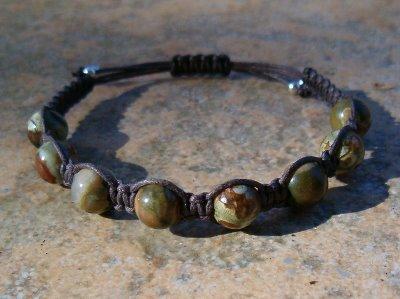 Rhyolite Healing Energy Bracelet
