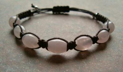 Rose Quartz Healing Energy Bracelet #2