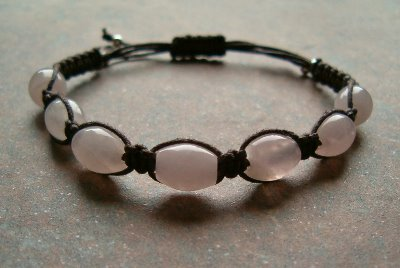Rose Quartz Healing Energy Bracelet