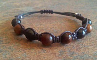 Ebony & Rosewood Healing Energy Bracelet