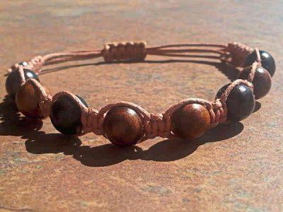Rosewood & Ebony Healing Energy Bracelet