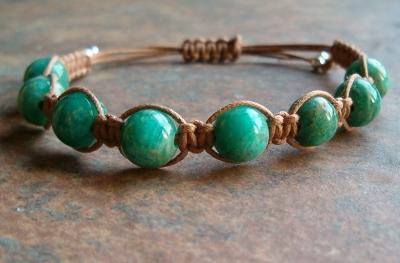Russian Amazonite Healing Energy Bracelet