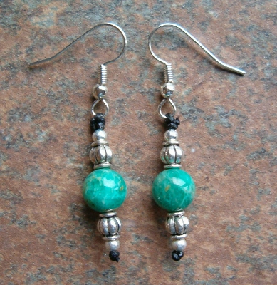 Russian Amazonite Earrings