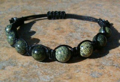 Russian Serpentine Healing Energy Bracelet