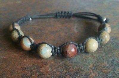 Shoushan Stone Healing Energy Bracelet