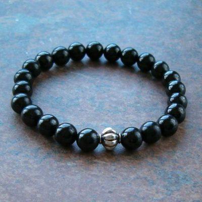 Shungite stretch bracelet