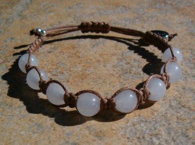 Snow Quartz Healing Energy Bracelet