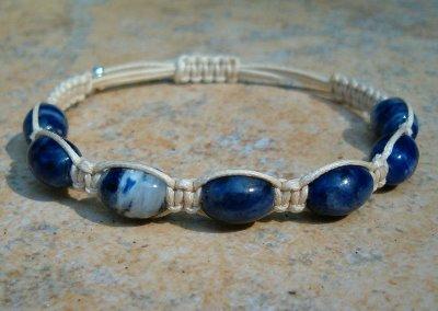 Sodalite Healing Energy Bracelet #3
