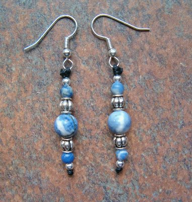 Sodalite Earrings #2
